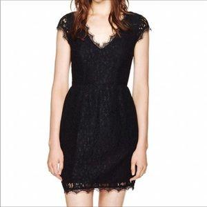 "Dark PURPLE Lace ""Tobias"" Dress - BABATON: Aritzia"